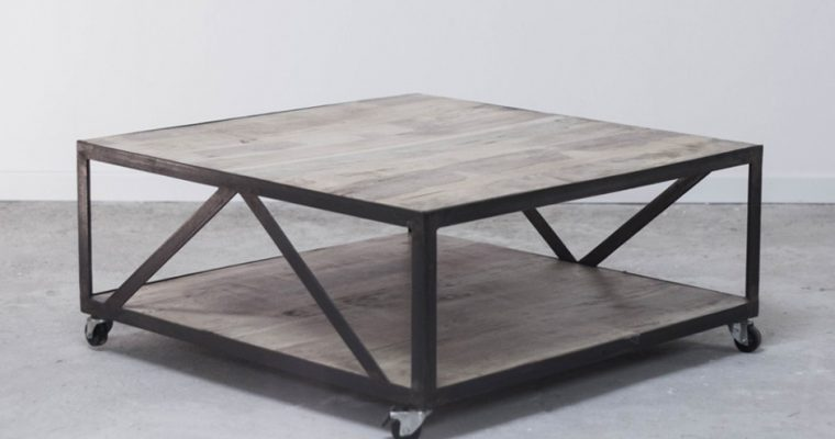 Table basse industrielle: comment faire le bon choix ?